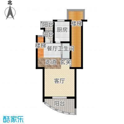 扬州水乡164.15㎡D2三室两厅三卫首层户型