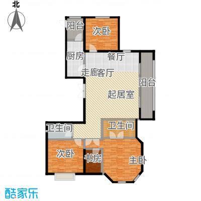 永昌・维多利亚广场E-3户型4室2卫1厨