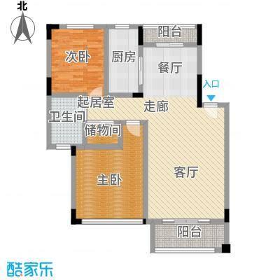 新地东方明珠91.00㎡二房二厅一卫-91平方米-8套户型
