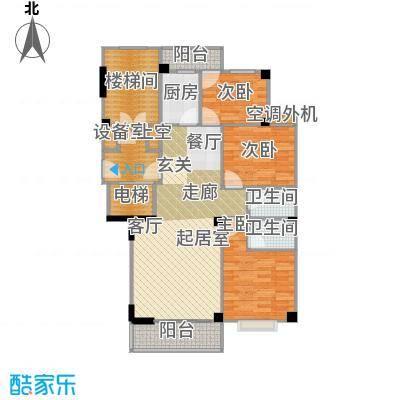 香江世纪名城100.98㎡户型