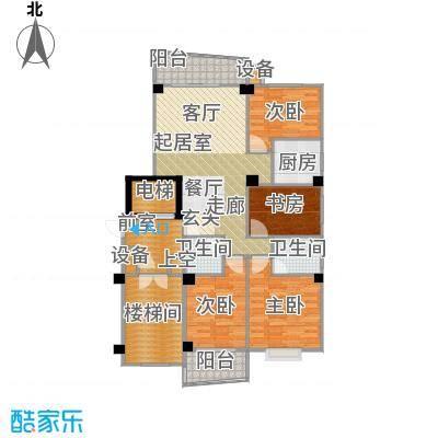 香江世纪名城119.36㎡户型