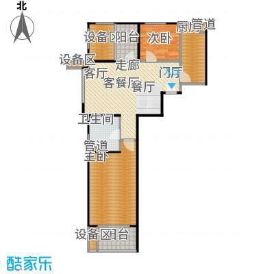 新弘国际阳光城79.48㎡D-3奇数层户型