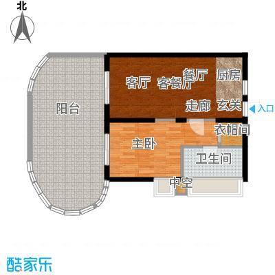 平海逸龙湾84.00㎡9J型户型