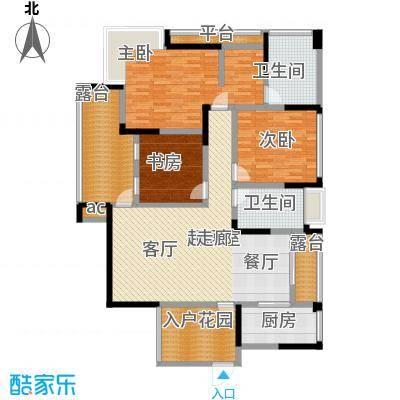 秀岭江山协信・秀岭江山120.34㎡户型