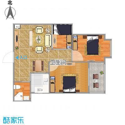 无锡85平方三室一厅