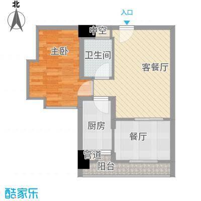 佳润云凯雅寓41.00㎡03/05/07户型