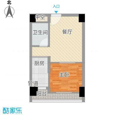 佳润云凯雅寓41.00㎡09户型