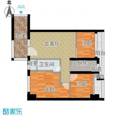 佳润云凯雅寓67.00㎡01户型