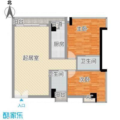 佳润云凯雅寓85.00㎡19户型
