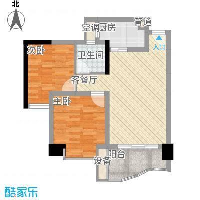优派青年公寓56.00㎡面积5600m户型