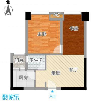 优派青年公寓45.00㎡面积4500m户型