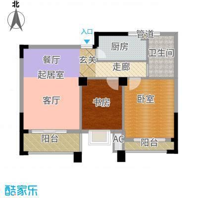 润泽大院89.00㎡中庆二期-C2户型