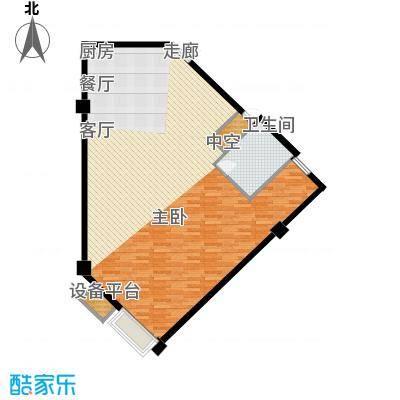 尚湖臻品大厦109.00㎡C户型