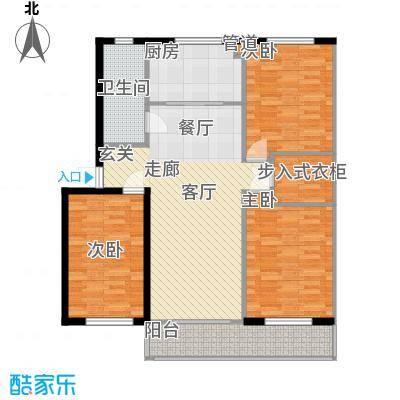 山水人家小区112.80㎡普通住宅11面积11280m户型