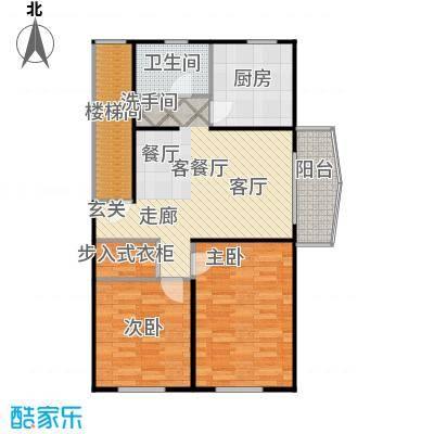 南草坪花园88.23㎡房型: 二房; 面积段: 88.23 -88.23 平方米;户型