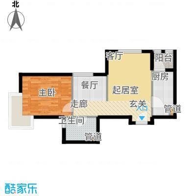 裕祥园58.98㎡1#6#7#楼1-30层A户面积5898m户型