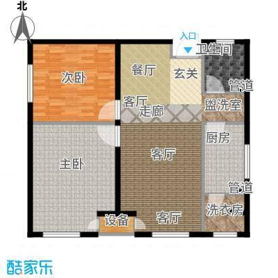炫彩SOHO104.77㎡A1B12面积10477m户型