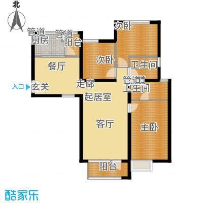 裕祥园138.27㎡2#3#4#5#楼1-18层面积13827m户型