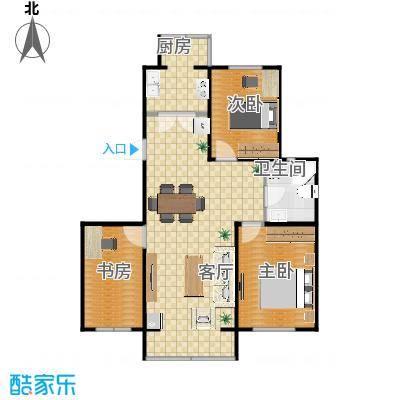 幸福港湾3室3厅