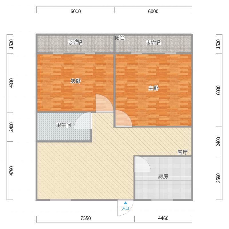 紫荆公寓3栋中间套