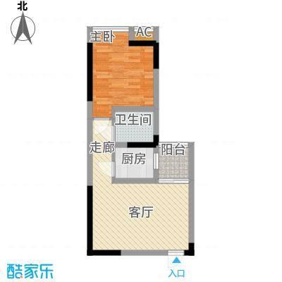 新上海大厦51.00㎡面积5100m户型-副本