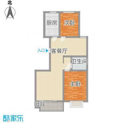 高速仁和盛庭二期高层12#楼F户型