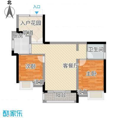 世纪城龙祺苑8.00㎡户型2室
