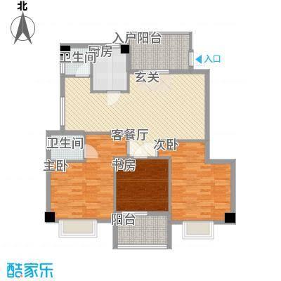 云龙海岸115.00㎡厦门户型
