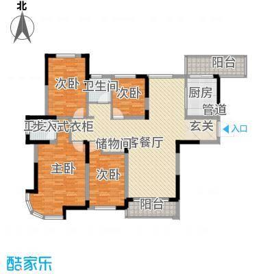 繁华世家户型4室