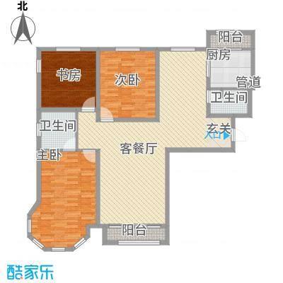 金水花城三期金水花城(三期)奥运金版户型3室
