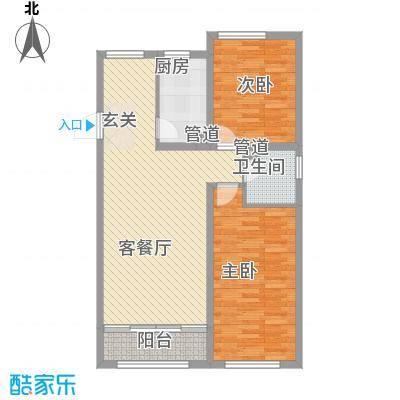 文兴东三里78.00㎡户型2室