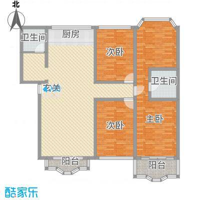 华雅花园201001111642521280户型4室2厅2卫1厨
