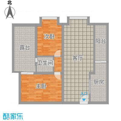 恒大华城天地苑91.60㎡上海面积9160m户型-副本