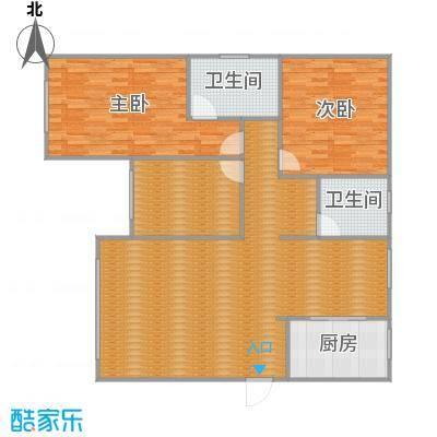 沪佳第一届设计大赛沪佳闸北店C户型-副本-副本