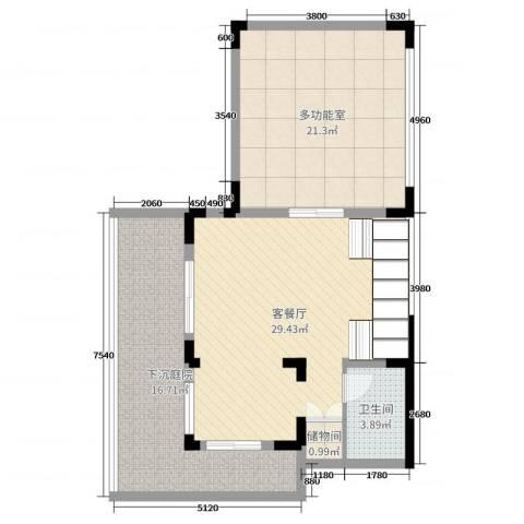 彩云之南大理王宫2厅1卫0厨116.00㎡户型图