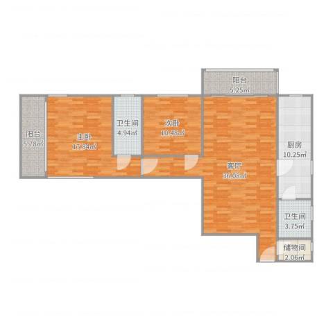 佳安公寓12室1厅2卫1厨121.00㎡户型图