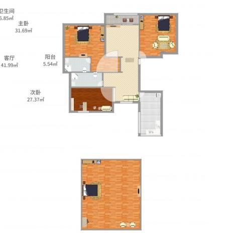润景花园4室1厅2卫1厨293.00㎡户型图