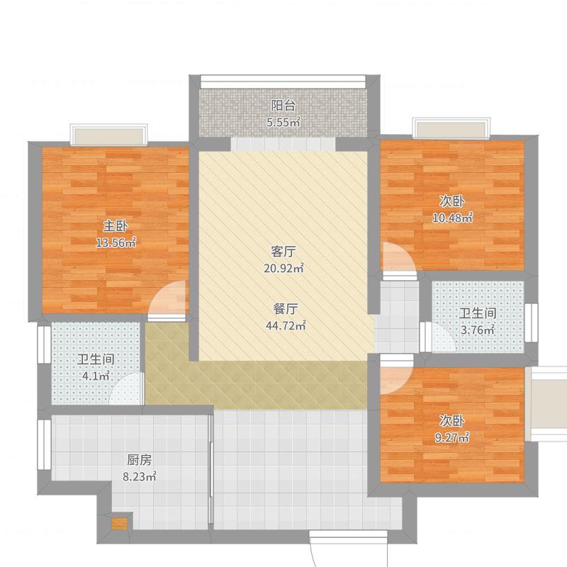 德和3号楼1单元1102