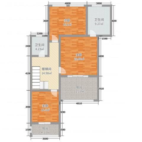 乐仙小镇3室0厅2卫0厨239.00㎡户型图