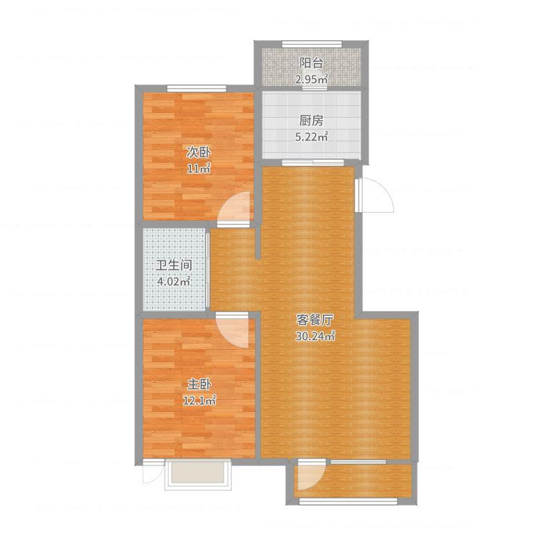 A区N1户型94.5平米