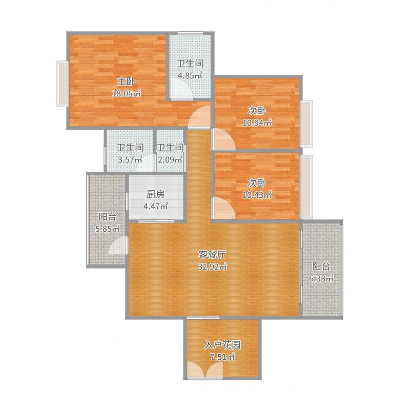三期39楼01户型_2016-10-02-1522