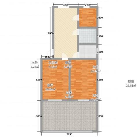 盈中新村(图没画错,注意方向)3室1厅1卫1厨91.49㎡户型图