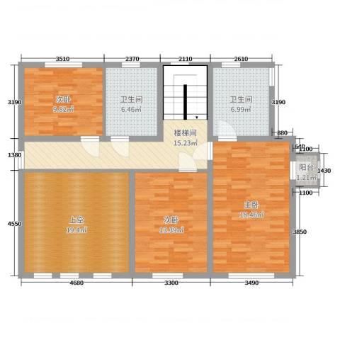 碧桂园 海昌 波尔多庄园3室0厅2卫0厨255.00㎡户型图