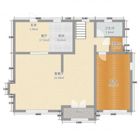 碧桂园 海昌 波尔多庄园3厅1卫0厨255.00㎡户型图