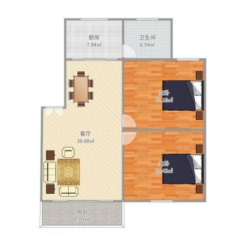 屿后北里52室1厅1卫1厨123.00㎡户型图