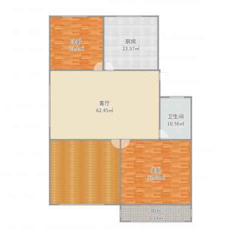 望燕名居2室1厅1卫1厨254.00㎡户型图