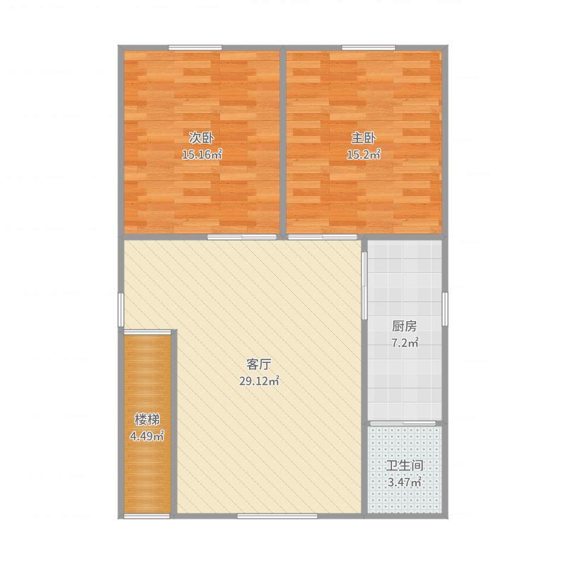 2室1厅1厨卫