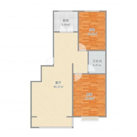 宽城国际1072室1厅1卫1厨99.00㎡户型图