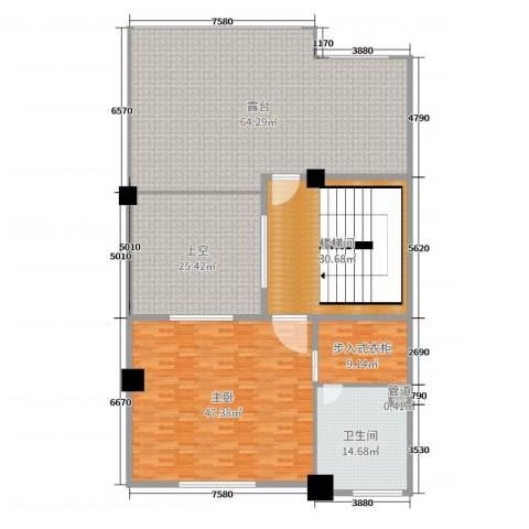 一米阳光・快乐家园1室0厅1卫0厨240.00㎡户型图