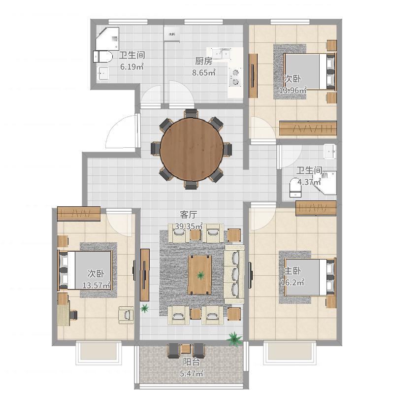唐山-泰和嘉园-设计方案